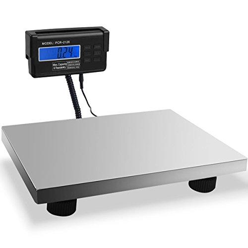 - Custpromo Heavy Duty Portable Digital Postal Scale, Floor Platform Scale KG/LB/oz, UPS USPS Post Office Postal Scale and Luggage Scale