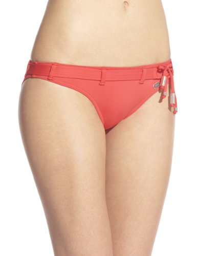 Banana Moon - Parte inferior del bikini para mujer Rojo (Rouge Satch)