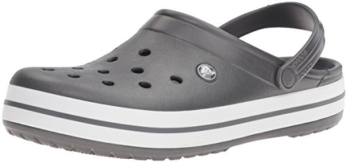 Sabots Graphite white Adulte Mixte Clog Gris Band Crocs WwnxAO7w