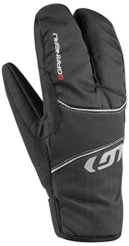 Louis Garneau - LG Super Shield Winter Bike Gloves, Black, XL (Full Finger Shield)
