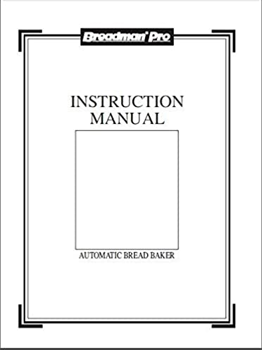 breadman bread machine maker instruction manual model tr555lc rh amazon com breadman bread machine model tr555lc manual breadman tr555lc recipes