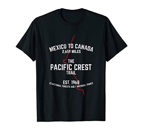 - THE PACIFIC CREST TRAIL PCT T Shirt