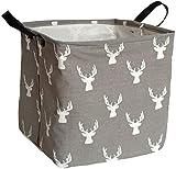 KUNRO Square Storage Basket Waterproof Coating