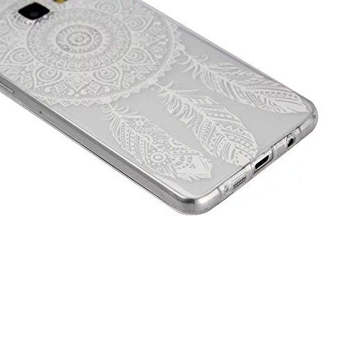 inShang Samsung Galaxy A5(2016) Funda y Carcasa para Samsung Galaxy A5(2016) case Samsung Galaxy A5(2016) móvil, Ultra delgado y ligero Material de TPU, carcasa posterior (Back case) con , dream catcher