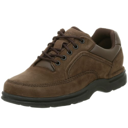 - Rockport Men's Eureka Walking Shoe-Chocolate-9  M