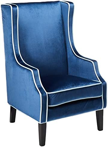 Christopher Knight Home Eddison Traditional Velvet Two-Toned Club Chair