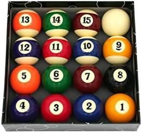 CAAA - Juego de bolas de billar, 52,4 mm, para billar americano ...