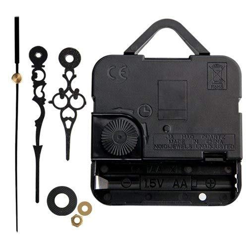 Amazon.com: NFLC Mecanismo Maquinaria de Reloj Cuarzo Horario Minutero Negro: Kitchen & Dining