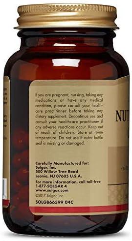 Solgar Pure Nutri-Nano CoQ-10 3.1x Cápsulas blandas - Envase de 50 ...
