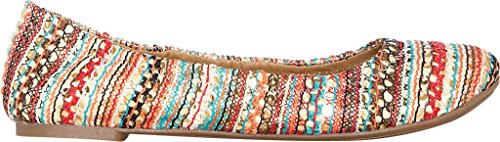 Lucky Brand Vrouwen Lucky Emmie Ballet Flat Turquoise