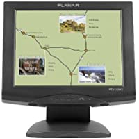 Planar PT1510MX Touch Screen LCD Monitor 15 - 450:1 1024X 768 PT1510MX VGA SER USB 5-wire Resistive