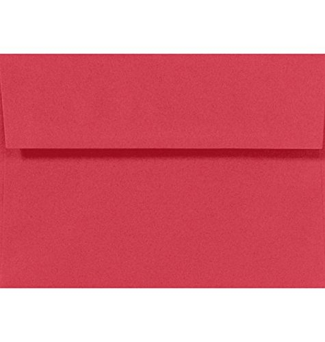 A9 Invitation Envelopes (5 3/4 x 8 3/4) - Holiday Red (50 Qty.)