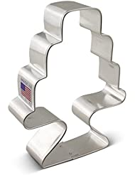 Ann Clark Cake With Stand Cookie Cutter - 4.5 Inches - Tin Plated Steel