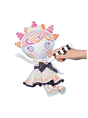 Lalaloopsy Color Me Squiggles N' Shapes Doll -