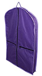 Derby Originals Tack Carry Bag Matching Garment Carry Bags, Purple/Lavender Trim