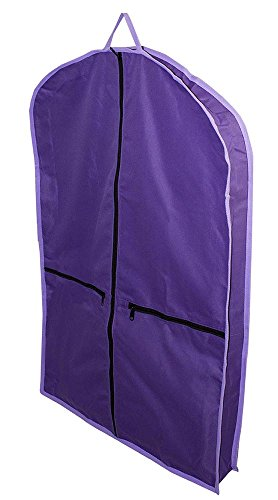 (Derby Originals Tack Carry Bag Matching Garment Carry Bags, Purple/Lavender Trim)