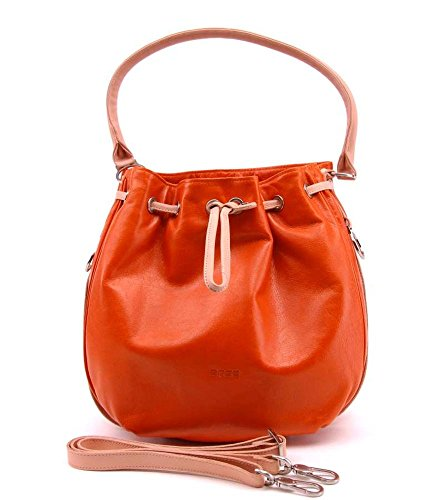 BREE Brigitte 16 Handtasche in orange