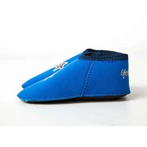 Yoccoes designs ,Chaussures souple pour bébé (garçon) bleu M 6-12 mois f5581bbaf30