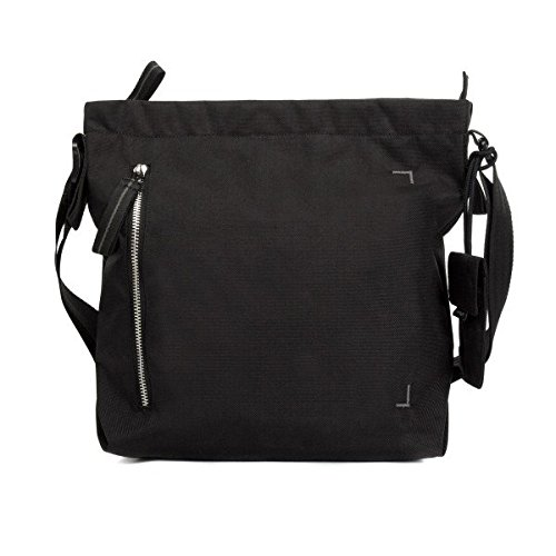 Crumpler DZPS-S-007 Small Doozie Photo Shoulder Camera Sling Bag with 9.7-Inch Tablet Compartment - Black/Metallic Silver Crumpler Home Camera Bag