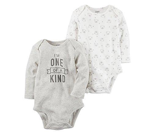2 Pack Bodysuit Set (Carter's Baby 2-Pack Bodysuit Set 6 Months)