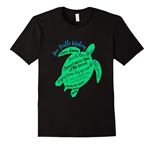 Green Sea Turtle Hawaiian Honu Wisdom T-Shirt Turtle Green T-shirt