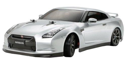 タミヤ 1/10 XBシリーズ No.101 XB NISSAN GT-R (TT-01Dシャーシ TYPE-E) ドリフトスペック 2.4GHz プロポ付き塗装済み完成品 57801 B0086LQ3KQ