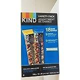 Kind Nut Bar 18 x 40 Grams Varity Pack  Net Wt 720 Grams