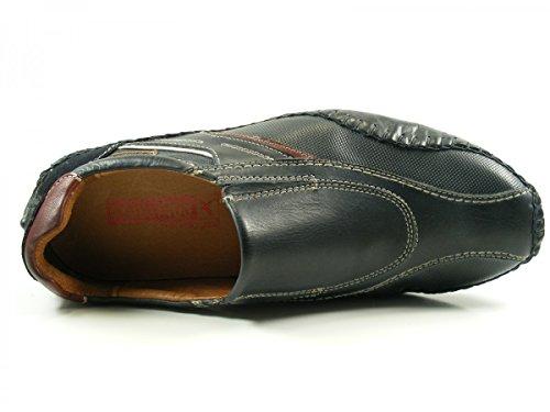 Pikolinos 15A-6079 Fuencarral Zapatos Mocasines de cuero para hombre Blau