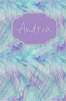 Book Andrea: Personalized Name Journal: Volume 5 (Andrea Lavender Watercolors Personal Journal)