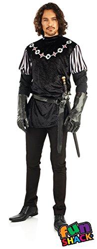 [Mens Sheriff Of Nottingham Fancy Dress Costume] (Sheriff Of Nottingham Costume)
