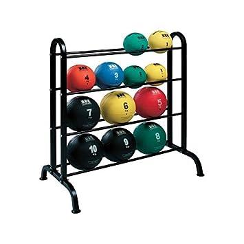 LiveUP Sports - Rack Ball Slam Horizontal Expositor Porta Balón Medicinal Gimnasio Entrenamiento: Amazon.es: Deportes y aire libre