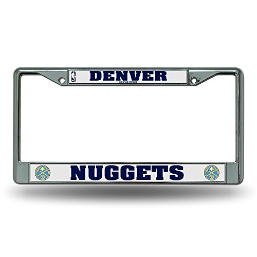 Rico License Plate Frame - Denver Nuggets by Rico