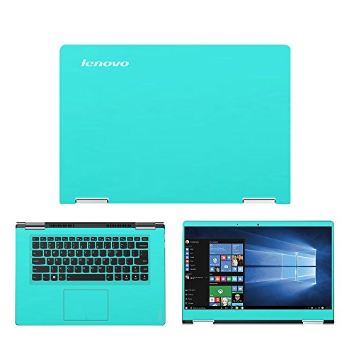 Mint Green skin decal wrap skin Case for Lenovo Yoga 710 15.6 Touch Screen Laptop