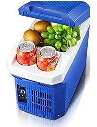 SL&BX Car refrigerator,7.5lmini fridge mini refrigerator refrigeration small home portable dormitory refrigerator refrigerator-B 37x20x30cm(15x8x12inch)