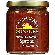 California Sun Dry Sun Dried Tomato Spread, 9oz Jar, Pack of 6