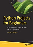 Python Projects for Beginners Front Cover