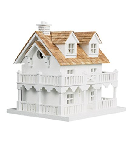 11'' Fully Functional Elaborate Beach Home Inspired Outdoor Garden Birdhouse by CC Home Furnishings