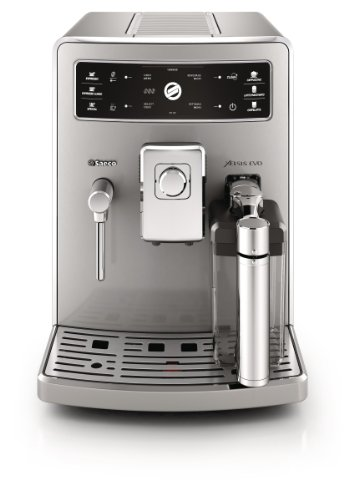 Saeco Xelsis Evo HD8954/47 Independiente Totalmente automática Espresso machine 1.6L Acero inoxidable - Cafetera (Independiente, Máquina espresso, 1.6 L, Molinillo integrado, 1500 W, Acero inoxidable)