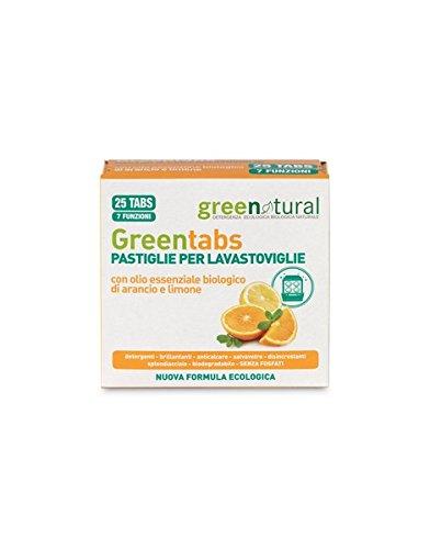 Greenatural - Lavavajillas en tabletas - 5207-25tabletas-Greenatural ...