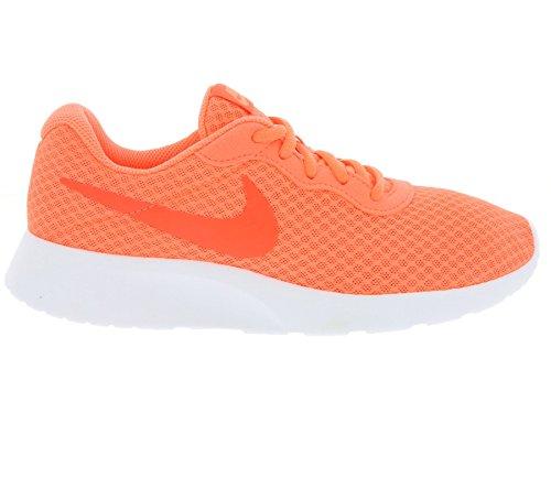 Nike Tanjun - Zapatillas para mujer, color negro / blanco Naranja (Bright Mango / Brght Crmsn White)