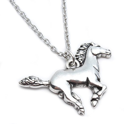 Godyce Horse Pendant Necklace for Women Girl Jewelry