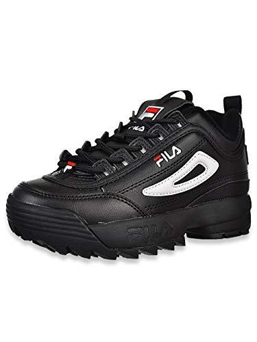 Fila Boys' Disruptor II Sneakers - Black Multi, 2 Youth