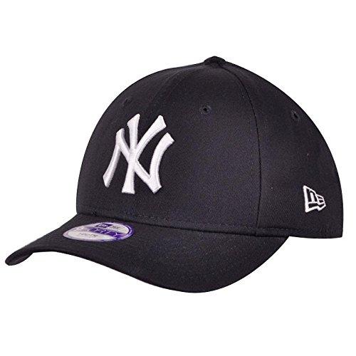 d537ddc8718 New Era Boy s KIDS MLB BASIC NY YANKEES 9FORTY ADJUSTABLE BLACK Cap ...