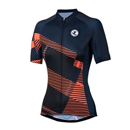 Uglyfrog July Newest Designs Basics Women's Short Sleeve Cycling Jersey - Bike Biking Shirt
