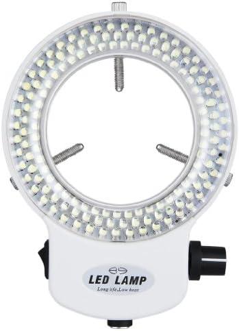 144pcs LED Ringliht Ringbeleuchtung dimmbar für Stereomikroskop DE