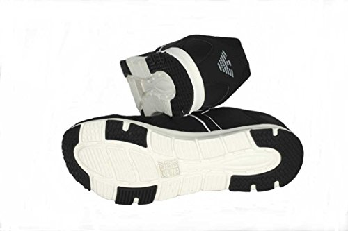 Uomo Armani Sneaker nero Nero Jeansa6519 AAaw4qxnv
