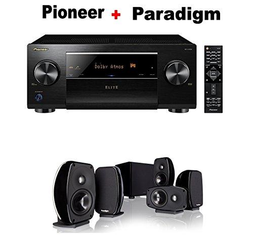 Pioneer-Elite-Audio-Video-Component-Receiver-black-SC-LX502-Paradigm-Cinema-100-CT-51-Home-Theater-System-Bundle