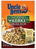 Uncle Ben's Original Recipe Long Grain & Wild Rice 6 oz (Pack of 12)