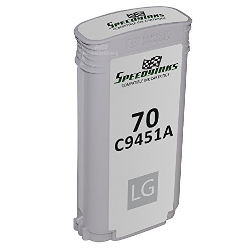 70 Inkjet Cartridge Light - Speedy Inks - Remanufactured Replacement for HP 70 / HP70 / C9451A Light Gray Ink Cartridge