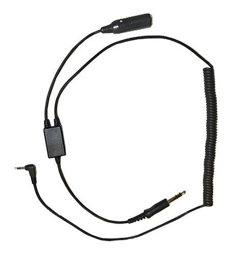 Digital Audio Recorder Adapter for GA Aviation Pilot Headsets